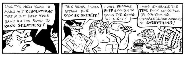 News paper comic strip